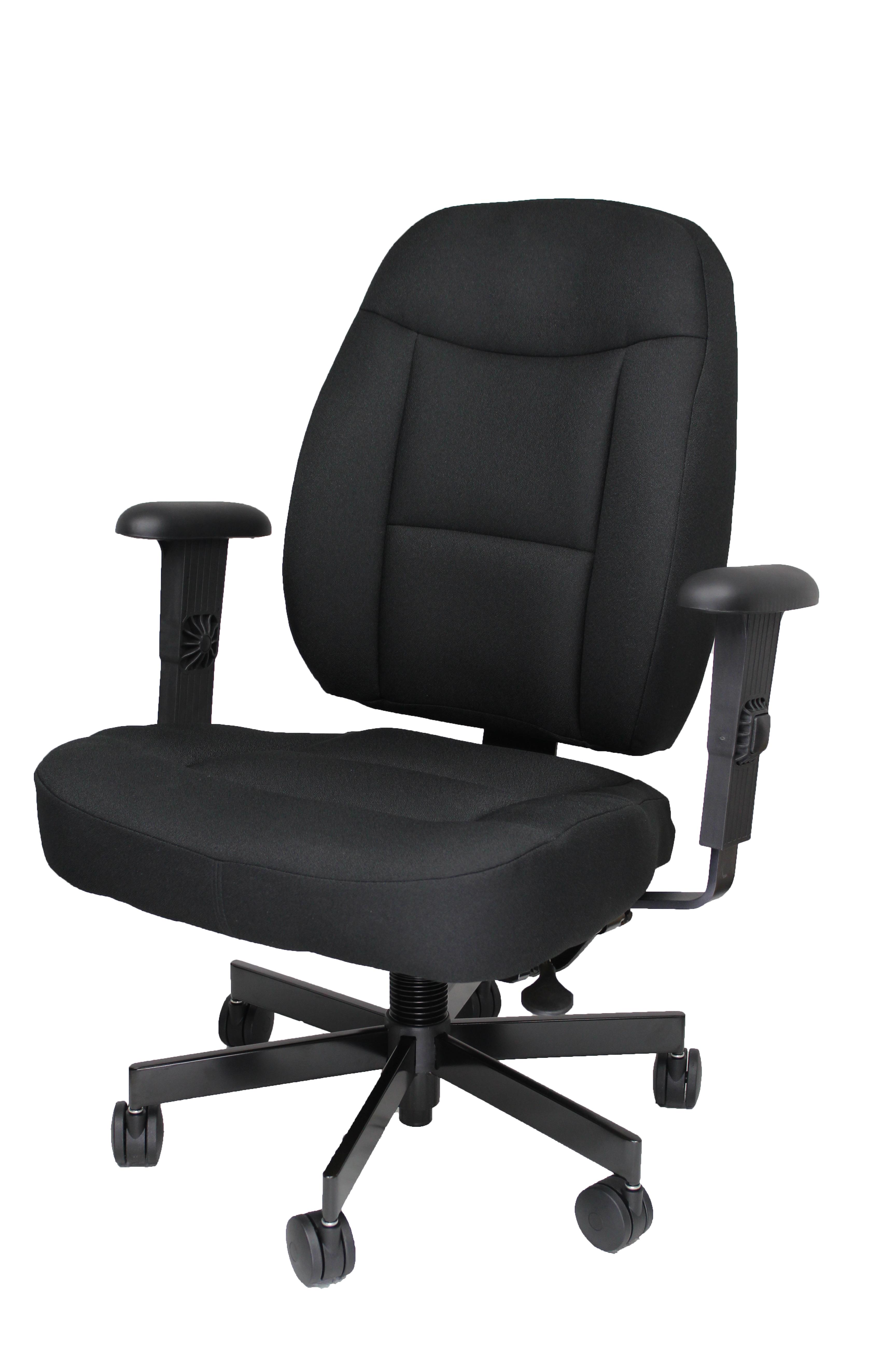 Iron Horse 5000 Black Cloth QTR Front Left No Headrest