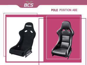 RECARO Pole Position ABE: Coureur in eigen auto!