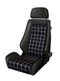 RECARO Classic LX Leder Classic checkered fabric